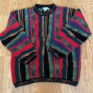 Vintage coogi style sweater